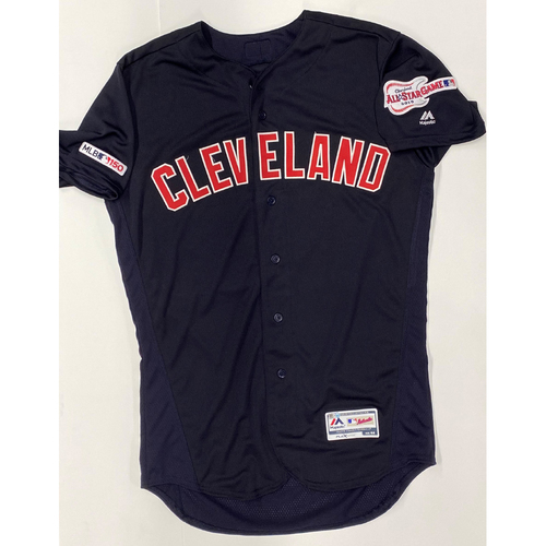 Photo of Eric Stamets Team Issued 2019 Navy Alternate Road Jersey