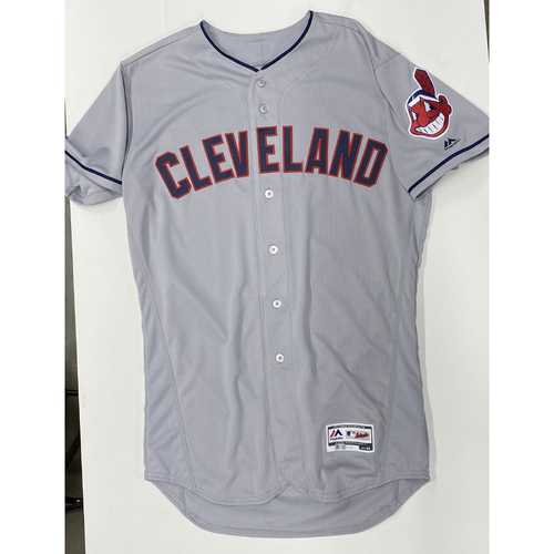 Photo of Danny Salazar Team Issued 2019 Gray Road Jersey