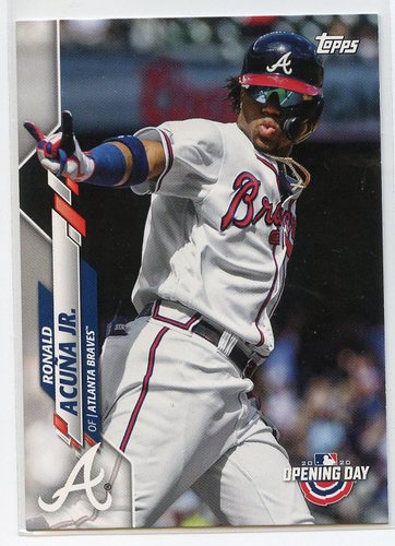 Photo of 2020 Topps Opening Day #67 Ronald Acuna Jr.