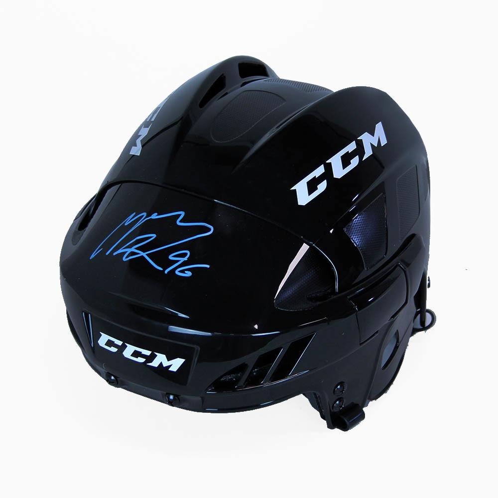 Mikko Rantanen Autographed CCM Hockey Helmet - Colorado Avalanche