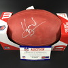 Legends - Buccaneers Warrick Dunn Signed Authentic Football