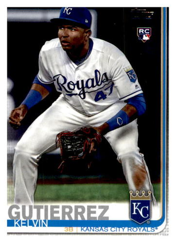 Photo of 2019 Topps Update #US116 Kelvin Gutierrez RC
