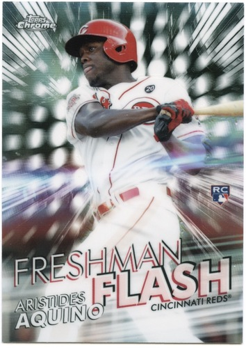 Photo of 2020 Topps Chrome Freshman Flash #FF2 Aristides Aquino
