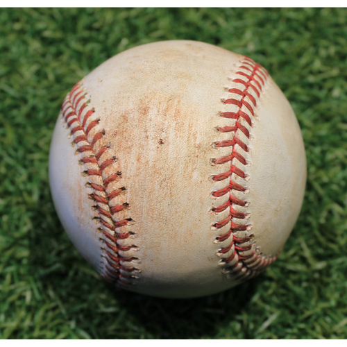 Photo of Game-Used Baseball: Tyler Clippard 915th Career Strikeout (MIN @ KC 8/22/20)