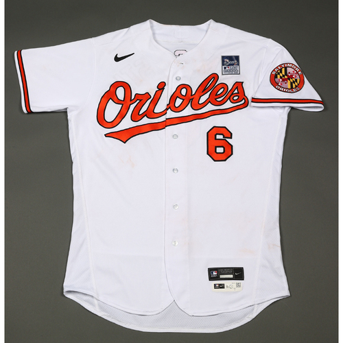 Photo of Ryan Mountcastle: Jersey - Game Used - Lou Gehrig Day