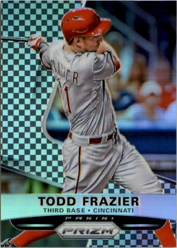 Photo of 2015 Panini Prizm Prizms Black and White Checker #142 Todd Frazier