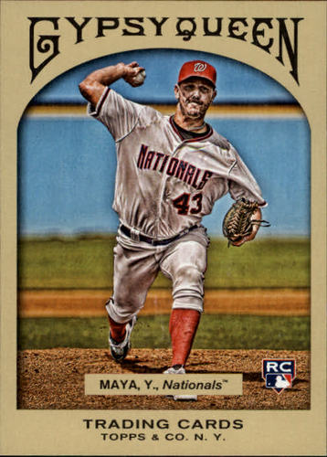 Photo of 2011 Topps Gypsy Queen #233 Yunesky Maya RC