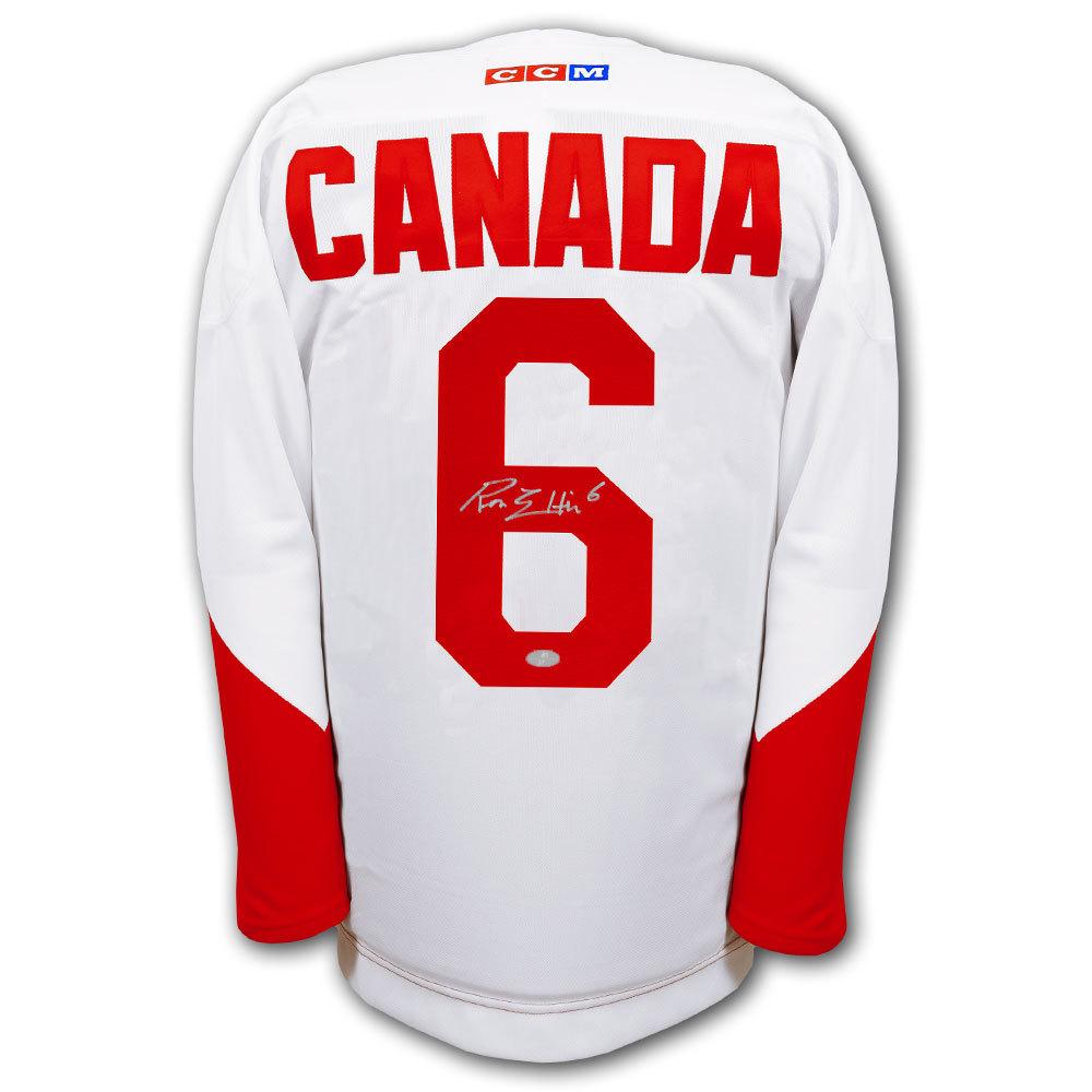 Ron Ellis Team Canada 1972 Summit Series Autographed Jersey