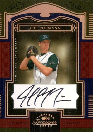 Photo of 2005 Timeless Treasures Signature Bronze #46 Jeff Niemann/100