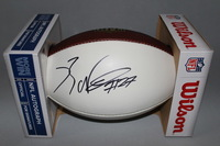 NFL - RAIDERS REGGIE NELSON SIGNED PANEL BALL