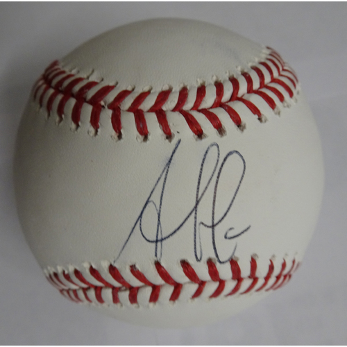 Photo of Ozzie Albies Autographed Baseball - 25% off on Black Friday! (Regular Price: $100)