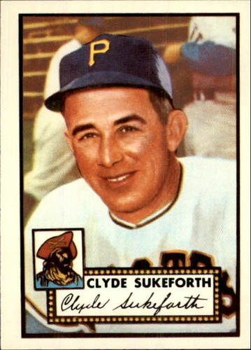 Photo of 1983 Topps 1952 Reprint #364 Clyde Sukeforth CO
