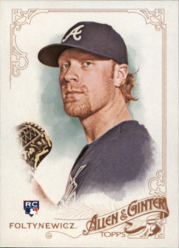 Photo of 2015 Topps Allen and Ginter #270 Mike Foltynewicz RC