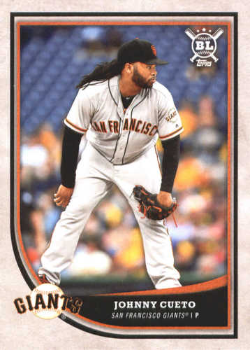 Photo of 2018 Topps Big League #138 Johnny Cueto