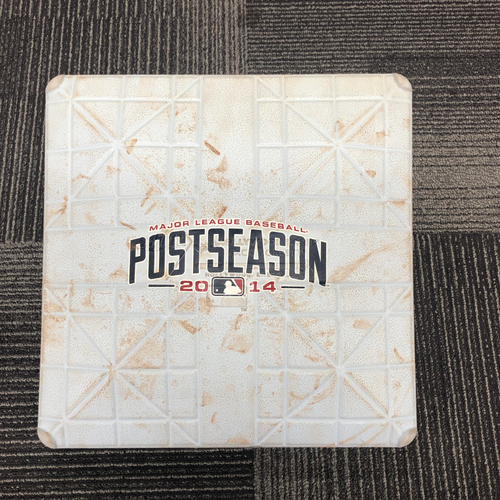 Photo of San Francisco Giants - 2014 NLCS Game 4 Game Used Base - 3rd Base innings 7-9 - 10/15/14 vs STL
