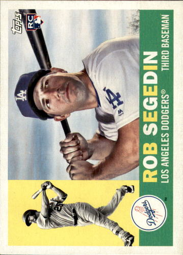 Photo of 2017 Topps Archives #39 Rob Segedin Rookie Card