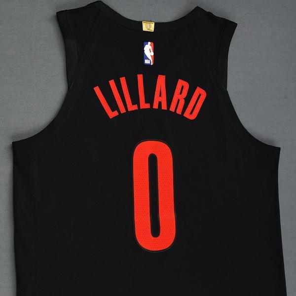 buy popular e4ab6 385a5 Damian Lillard - Portland Trail Blazers - 2019 MTN DEW 3 ...