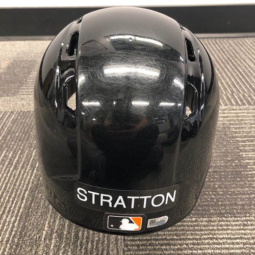 Photo of 2019 Team Issued Spring Training Batting Helmet - #34 Chris Stratton - Size 7 1/4