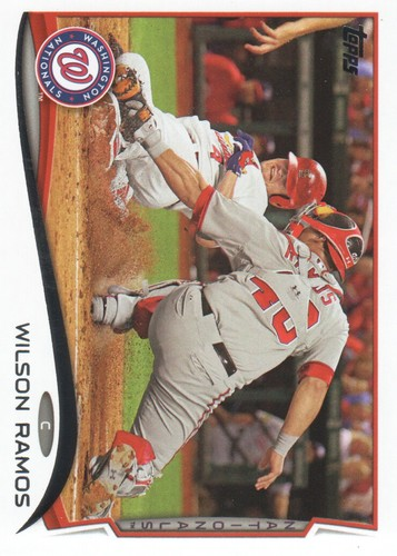 Photo of 2014 Topps #645 Wilson Ramos