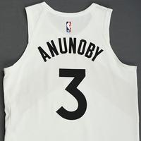 OG Anunoby - Toronto Raptors - 2018-19 Season - Game-Worn White City Edition Jersey