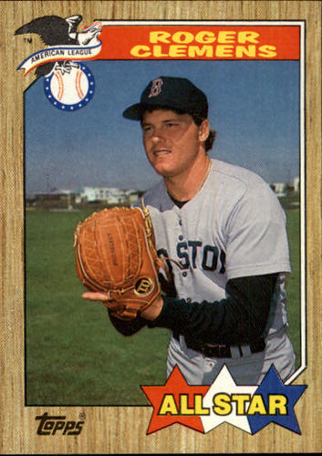 Photo of 1987 Topps #614 Roger Clemens AS