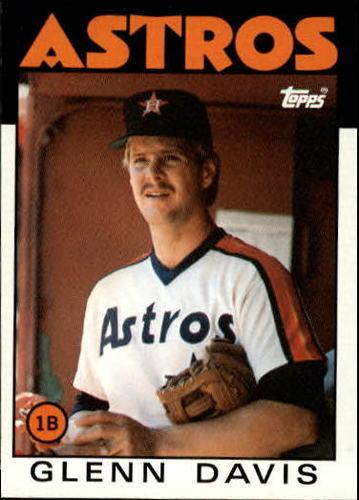 Photo of 1986 Topps #389 Glenn Davis