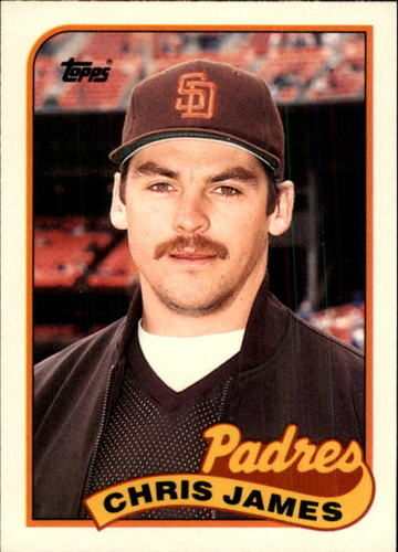 Photo of 1989 Topps Traded #56T Chris James