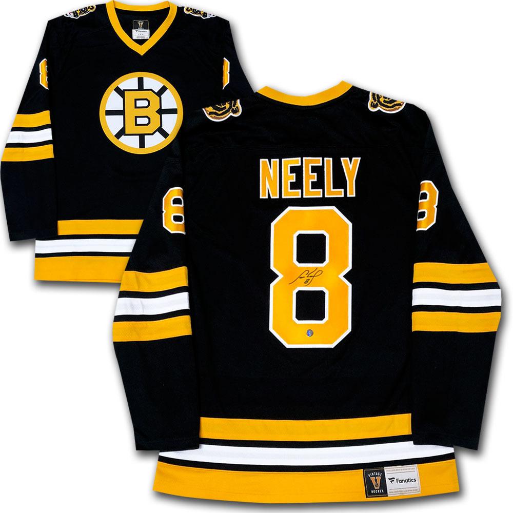Cam Neely Autographed Boston Bruins Fanatics Heritage Jersey