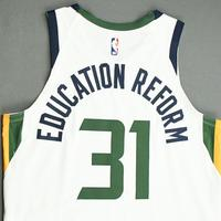 Georges Niang - Utah Jazz - Game-Worn Association Edition Jersey - 2019-20 NBA Season Restart with Social Justice Message
