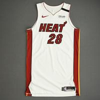 Andre Iguodala - Miami Heat - Game-Worn Association Edition Jersey - 2019-20 NBA Season Restart with Social Justice Message
