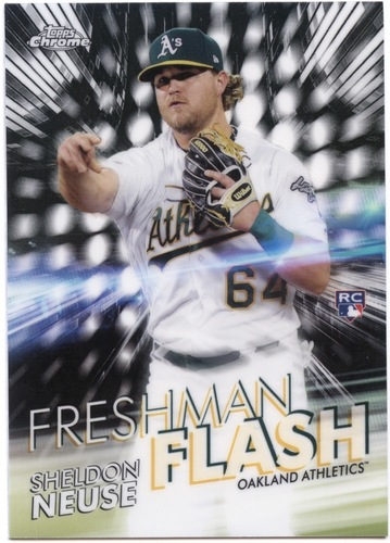 Photo of 2020 Topps Chrome Freshman Flash #FF7 Sheldon Neuse