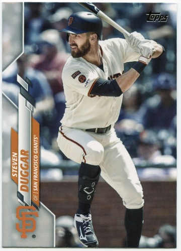 Photo of 2020 Topps #472 Steven Duggar