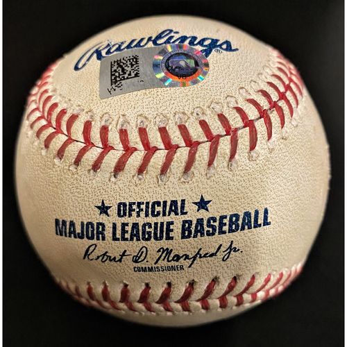 Photo of Game-Used Baseball:  Matthew Boyd Detroit Tigers Strikeout (MLB AUTHENTICATED)