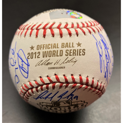 Photo of Detroit Tigers 2012 Team Signed Official World Series Baseball (MLB AUTHENTICATED)