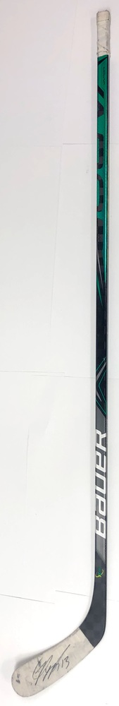 #13 Mark Pysyk Game Used Stick - Autographed - Dallas Stars