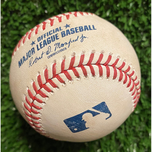Photo of Matt Beaty Hit RBI Single Baseball off Charlie Morton - June 5, 2021