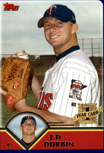 Photo of 2003 Topps Traded #T241 J.D. Durbin FY RC