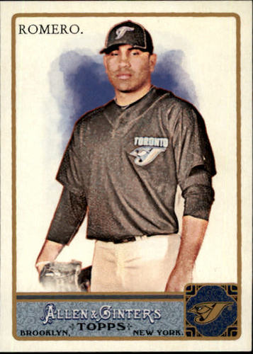 Photo of 2011 Topps Allen and Ginter #64 Ricky Romero