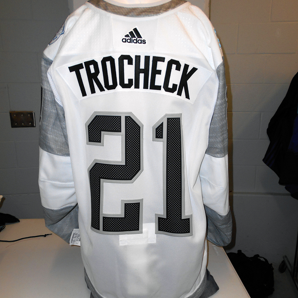 Vincent Trocheck Florida Panthers Game-Used Away 2016 World Cup Of Hockey  Team North America ... 3a679e8c8