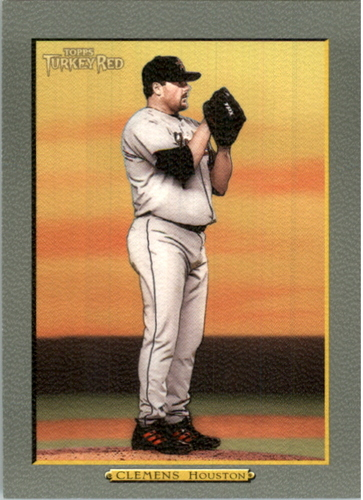 Photo of 2005 Topps Turkey Red #5B R.Clemens Yellow Sky SP