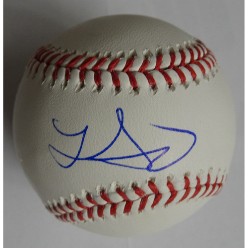 Photo of Lucas Sims Autographed Baseball - 25% off on Black Friday! (Regular Price: $80)