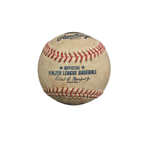 Photo of Game-Used Baseball from Pirates vs. Mets on 5/26/17 - Duda 2 RBI Double