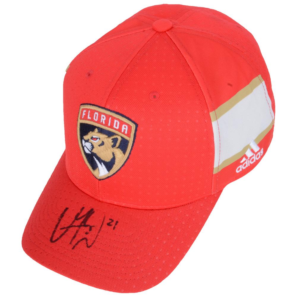 Vincent Trocheck Florida Panthers Autographed Adidas Cap