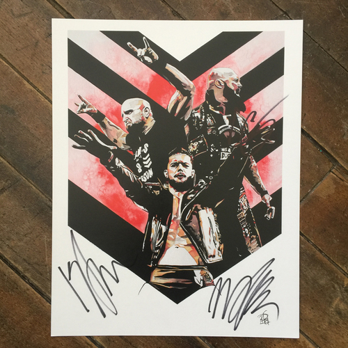 Photo of Bàlor Club SIGNED 11 x 14 Rob Schamberger Print