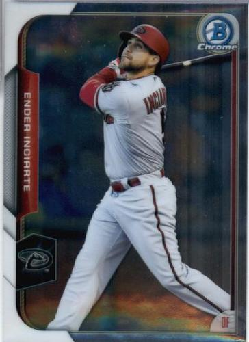 Photo of 2015 Bowman Chrome #33 Ender Inciarte RC