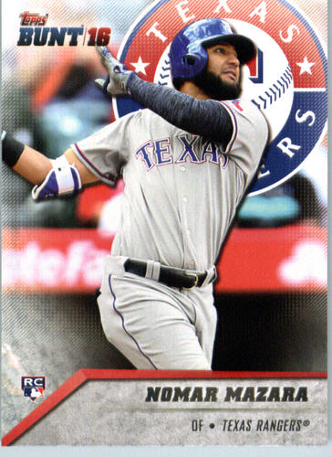 Photo of 2016 Topps Bunt #183 Nomar Mazara Rookie Card