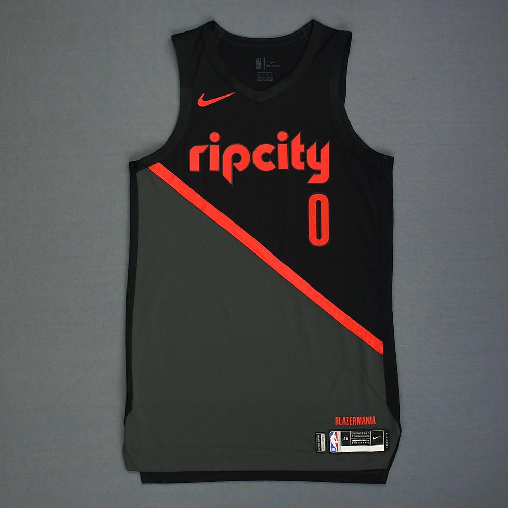 ... City Edition Jersey. Damian Lillard - Portland Trail Blazers - 2019 MTN  DEW 3-Point Contest - Event a12612d67