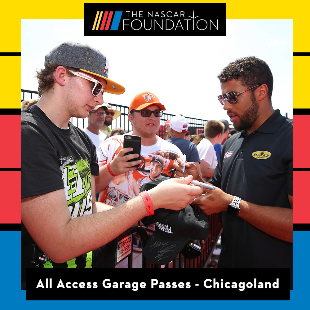 All Access Garage Passes at Chicagoland Speedway!