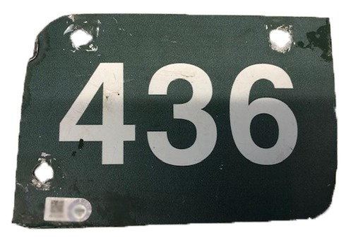 Photo of 12 Days of Auctions: Day 11 -- Wrigley Field Collection -- Aisle Marker 436
