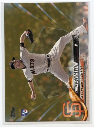 Photo of 2018 Topps Update Gold #US257 Chris Stratton